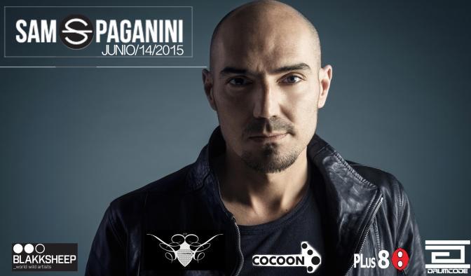 Sam Paganini _Eliptica Club _ 14 Junio