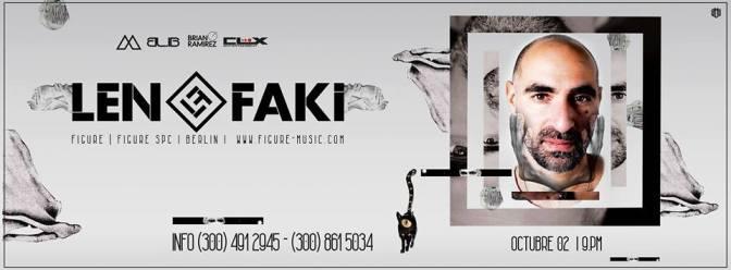 Len Faki _ 02 Octubre _ La Dolores Cali